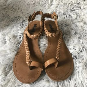 Unlisted Leather Sandals